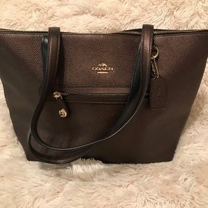 """Brown coach """"Taylor"""" tote"""